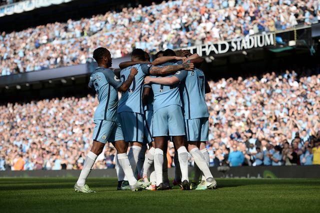Manchester City goleia o Bournemouth pelo Inglês Oli Scarff / AFP/AFP