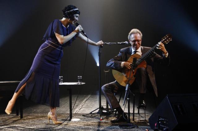 Lívia e Arthur Nestrovski dividem o palco em espetáculo no Theatro São Pedro Daniel Kersys/Divulgação
