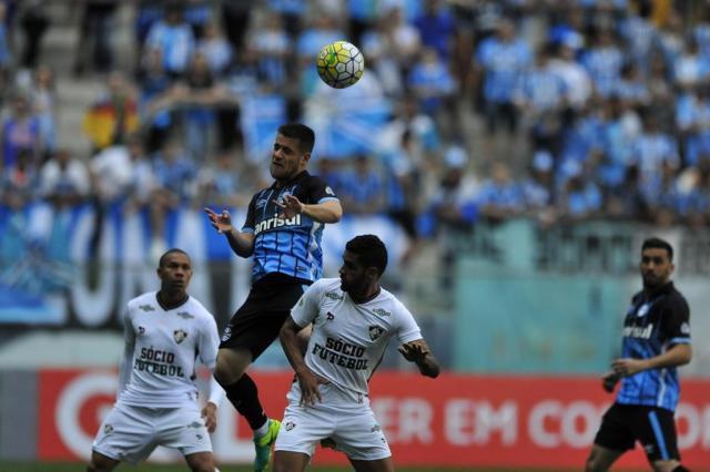 """Maicon lamenta """"bobeira"""", cita ansiedade do Grêmio e afirma: """"É hora de ficar quieto e trabalhar"""" André Ávila/Agencia RBS"""