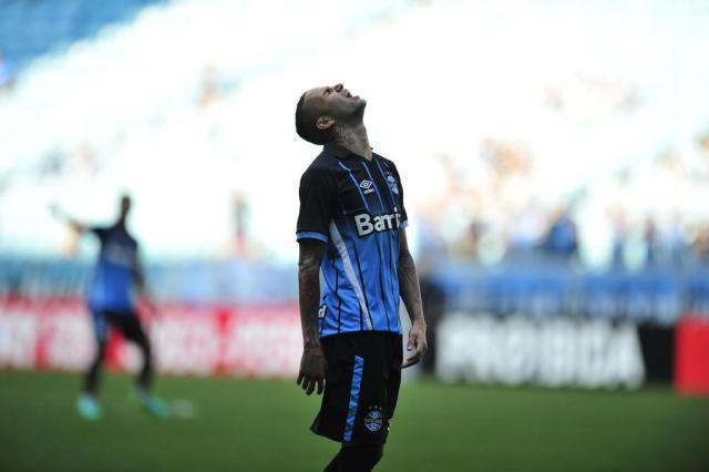 Sem efetividade, Grêmio perde por 1 a 0 para o Fluminense na Arena André Ávila/Agencia RBS