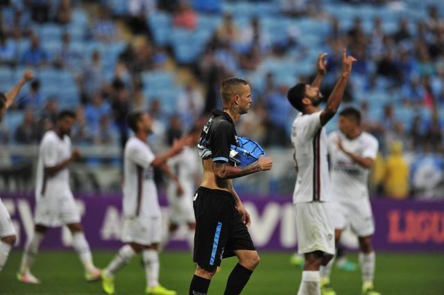 """Guerrinha: """"só mudou o técnico"""" André Ávila/Agencia RBS"""