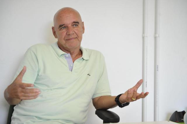 """Valdir Espinosa comemora retorno ao Grêmio: """"Era um sonho que queria realizar"""" Patrick Rodrigues/Agencia RBS"""