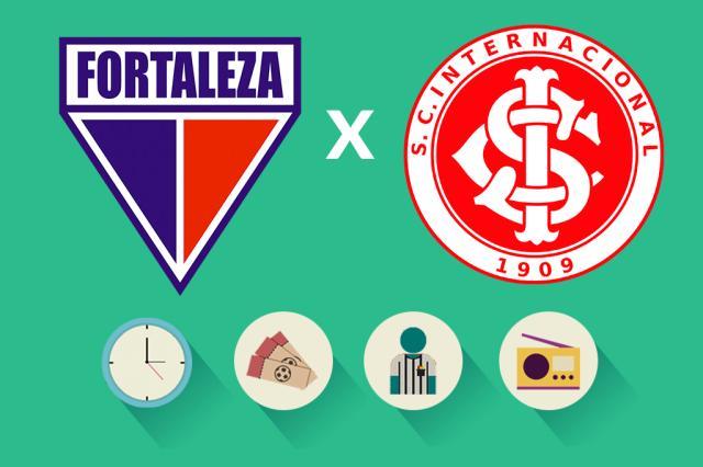 Fortaleza x Inter: tudo o que você precisa saber para acompanhar a partida Arte ZH/Agência RBS