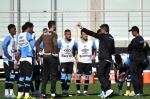 Renato comanda primeiro treino no Grêmio
