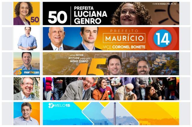 Campanha nas redes sociais ainda engatinha em Porto Alegre Facebook / Reprodução/Reprodução