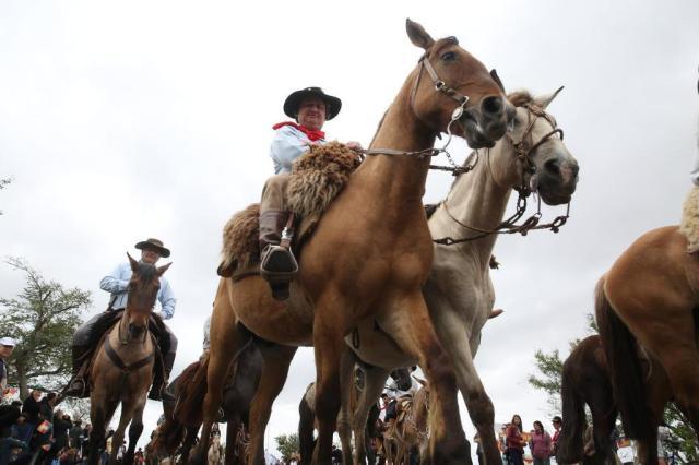 Cerca de 1,5 mil cavalarianos participam do Desfile Farroupilha em Porto Alegre Tadeu Vilani/Agencia RBS