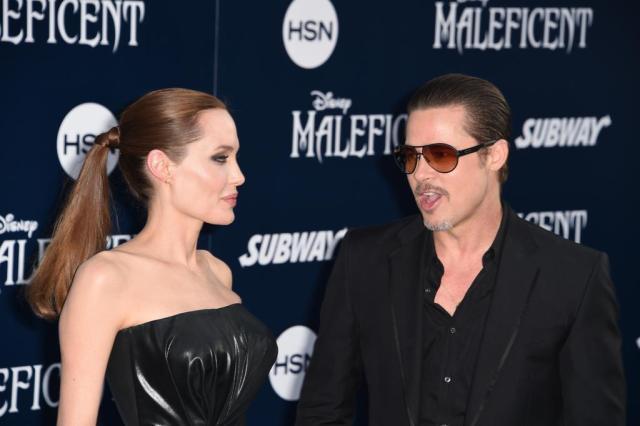 """Brad Pitt fala sobre divórcio: """"O que importa agora é o bem-estar das nossas crianças"""" ROBYN BECK/AFP"""