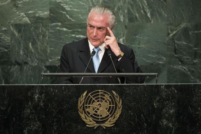 Temer e Mendonça Filho vão definir MP da reforma do Ensino Médio nesta madrugada Drew Angerer/Getty Images/AFP
