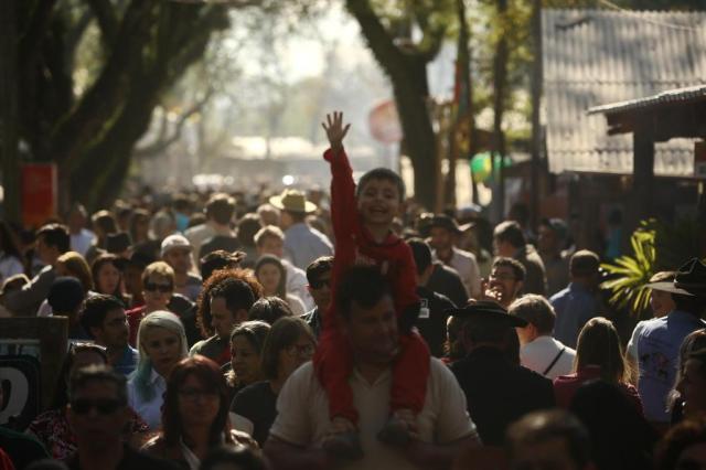 Acampamento Farroupilha termina com recorde de público Carlos Macedo/Agencia RBS