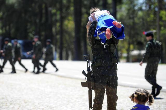 Após dois meses, militares que atuaram na Olimpíada retornam para Santa Maria Maiara Bersch/Agencia RBS