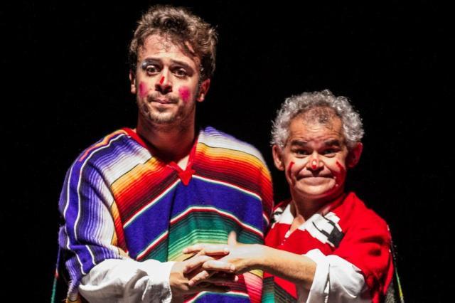 Gero Camilo e Victor Mendes celebram a cultura em peça no 23º Porto Alegre Em Cena Cacá Diniz/Divulgação