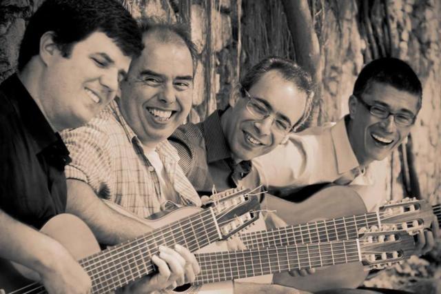 8º Festival de Violão da UFRGS reúne músicos nacionais e internacionais Quarteto Maogani/Divulgação