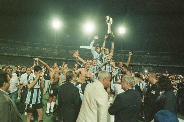 Grêmio promove jogo comemorativo aos 20 anos do bicampeonato brasileiro Arquivo/Zero Hora
