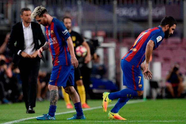 Com lesão muscular, Messi desfalca a Argentina nos dois próximos jogos das Eliminatórias JOSEP LAGO / AFP/AFP