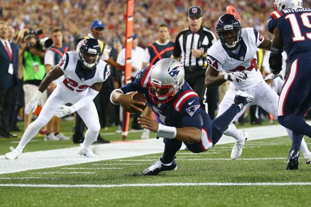 Mesmo com o terceiro quarterback, Patriots atropela o Texans Adam Glanzman / Getty Images/AFP/Getty Images/AFP