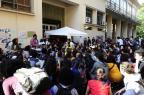 Após protesto de estudantes, sessão que votaria mudanças no ingresso por cotas na UFRGS é cancelada Ronaldo Bernardi/Agencia RBS