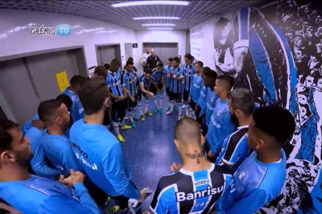 Grêmio divulga bastidores de classificação contra Atlético-PR na Copa do Brasil Reprodução / Youtube/Youtube