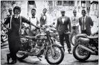 Com roupas e veículos clássicos, motociclistas fazem passeio beneficente na Capital Thiago Pedruzzi/Divulgação