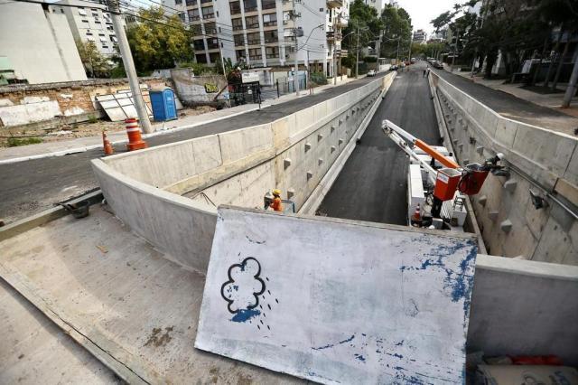 Trincheira da Anita será liberada para o trânsito na segunda-feira Carlos Macedo/Agencia RBS