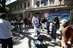 Postos da Capital registram grande movimento no dia D de campanha Carlos Macedo/Agencia RBS