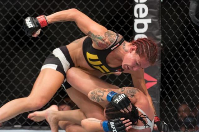 """Cyborg critica opção do UFC por Ronda como desafiante de Amanda: """"É ridículo"""" Reinaldo Reginato/Fotoarena/Agência Lancepress!"""