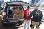 Condutor sem CNH é preso com 50 kg de maconha em Sarandi Polícia Rodoviária Federal/Divulgação