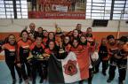 Grupo da MGA Games é recebido com festa após conquista do bicampeonato gaúcho de futsal MarceloCasagrande/Agencia RBS