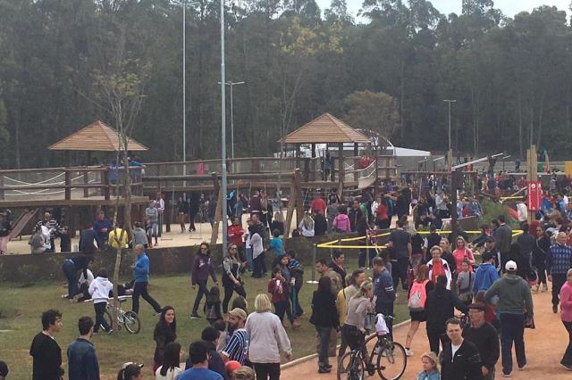 Parque Getúlio Vargas é reinaugurado com festa em Canoas Moglia/Divulgação