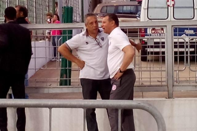 """Apesar de derrota, Roth vê melhora: """"A atuação foi digna de Inter"""" André Silva / Agência RBS/Agência RBS"""