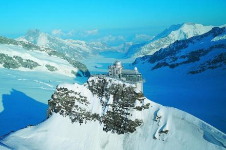 """Conheça o lugar na Suíça conhecido como o """"Topo da Europa"""" (Jungfrau Railways/Divulgação)"""