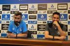 """Douglas se diz indiferente a momento do Inter: """"Não penso no outro lado"""" Divulgação / Grêmio/Grêmio"""