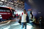 Inter embarca no Aeroporto Salgado Filho