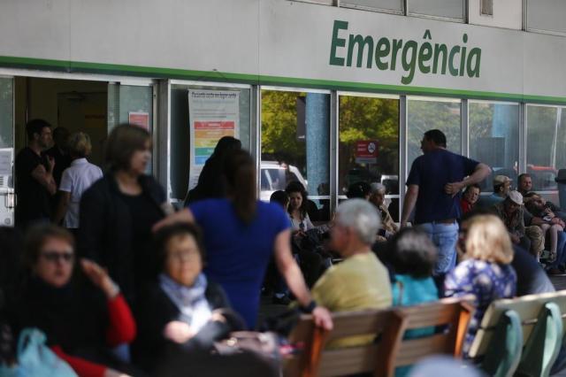 Porto Alegre registra 11 emergências com superlotação Félix Zucco/Agencia RBS