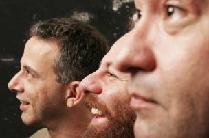 Paralamas retomam o formato de trio no palco em show no Opinião Mauricio Valladares/Divulgação