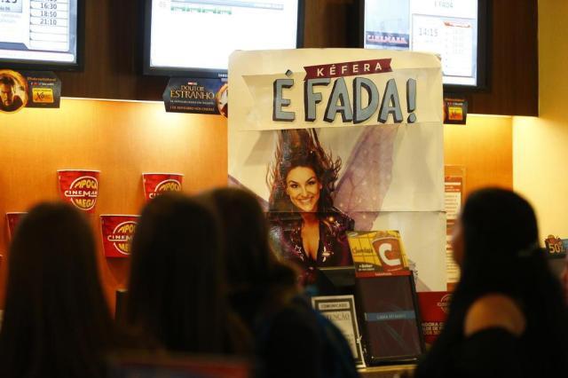 """Público aplaude filme estrelado por Kéfera em sessão na Capital: """"Ela me representa"""", declara fã da youtuber Félix Zucco/Agencia RBS"""