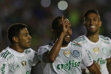 Alecsandro volta a marcar, e líder Palmeiras bate o América-MG (Cesar Greco/Ag Palmeiras/Divulgação/Cesar Greco/Ag Palmeiras/Divulgação)