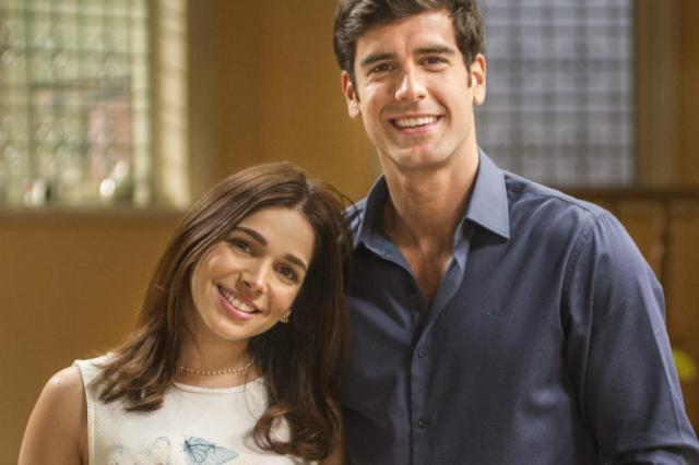 """""""Haja Coração"""": Felipe cede à chantagem de Jéssica e se separa de Shirlei Maurício Fidalgo/TV Globo/Divulgação"""