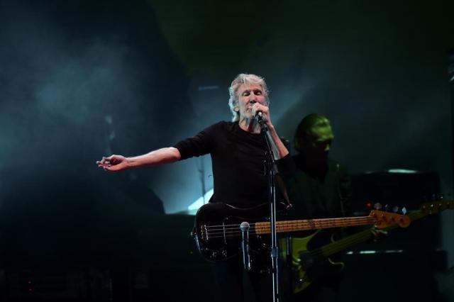 Roger Waters chama Donald Trump de porco durante show Ronaldo Schemidt/AFP