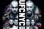 Ultimate divulga cartaz oficial do UFC Nova York com seis astros Reprodução/