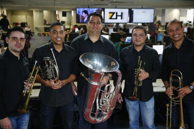 Quinteto Porto Alegre se apresentará na Biblioteca Pública Félix Zucco/Agencia RBS