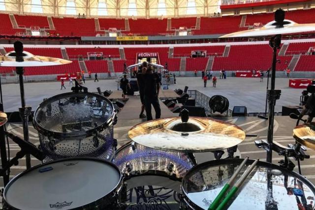 Aerosmith publica vídeos de show em Porto Alegre Facebook/Reprodução