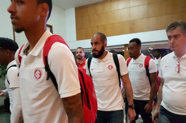 """Com três mudanças, Inter chega ao Rio buscando """"somar pontos"""" em decisão contra o Botafogo Rodrigo Oliveira / Agência RBS/Agência RBS"""