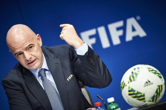 Fifa projeta Copa do Mundo com 48 seleções e sede em mais de um país Michael Buholzer/AFP