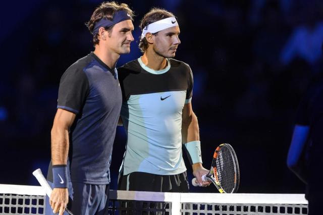 Federer e Nadal ficam fora do top 5 em ranking pela primeira vez em 13 anos e meio Fabrice Coffrini/AFP