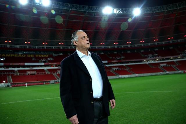"""Apesar de tropeço do Sport, Inter adota cautela: """"Temos que pensar nos nossos jogos"""" Júlio Cordeiro/Agencia RBS"""