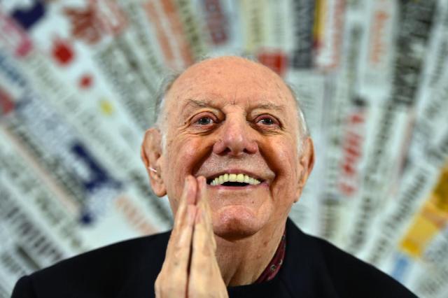 Aos 90 anos, morre o Nobel de Literatura italiano Dario Fo Gabriel Bouys/AFP