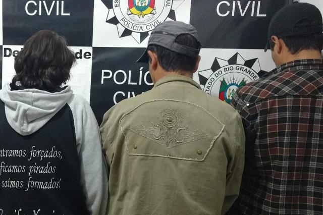 Filha é presa suspeita de mandar matar o pai por herança de R$ 300 mil em Bom Jesus Polícia Civil / Divulgação/Divulgação