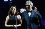Anitta canta com o tenor Andrea Bocelli em São Paulo AgNews/AgNews