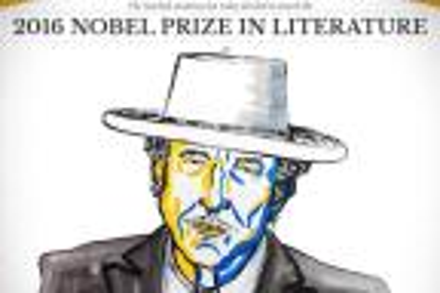 Escolha de Bob Dylan para Nobel de Literatura repercute entre escritores e personalidades Divulgação/Nobelprize.org