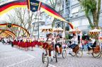 Comer, beber e dançar: passeio pela Oktoberfest de Santa Cruz do Sul Omar Freitas/Agencia RBS